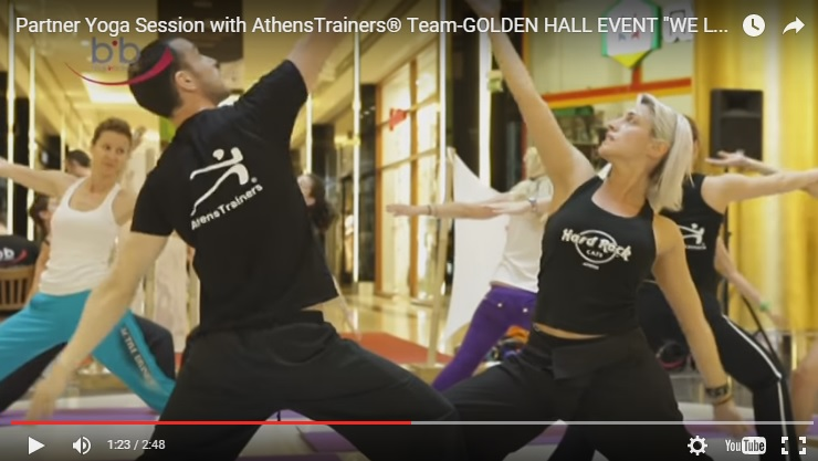 Partner Yoga Session with AthensTrainers® Team