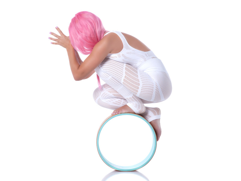 Yoga with Wheel