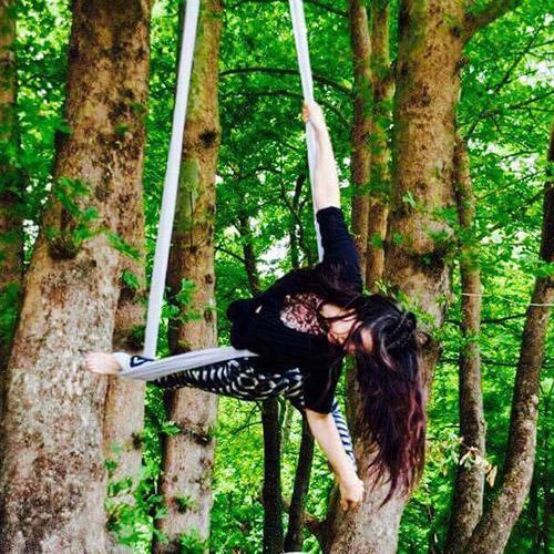 Aerial Yoga Teacher, δασκάλα Aerial Yoga, Κωνσταντίνα Λέκκα
