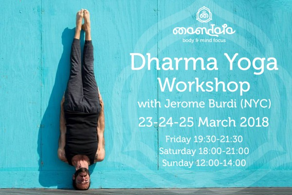 Dharma Yoga Workshop with Jerome Burdi (NYC)