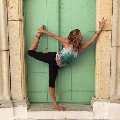 Yoga Teacher, δασκάλα yoga, Μαρίνα Γουρνέλη