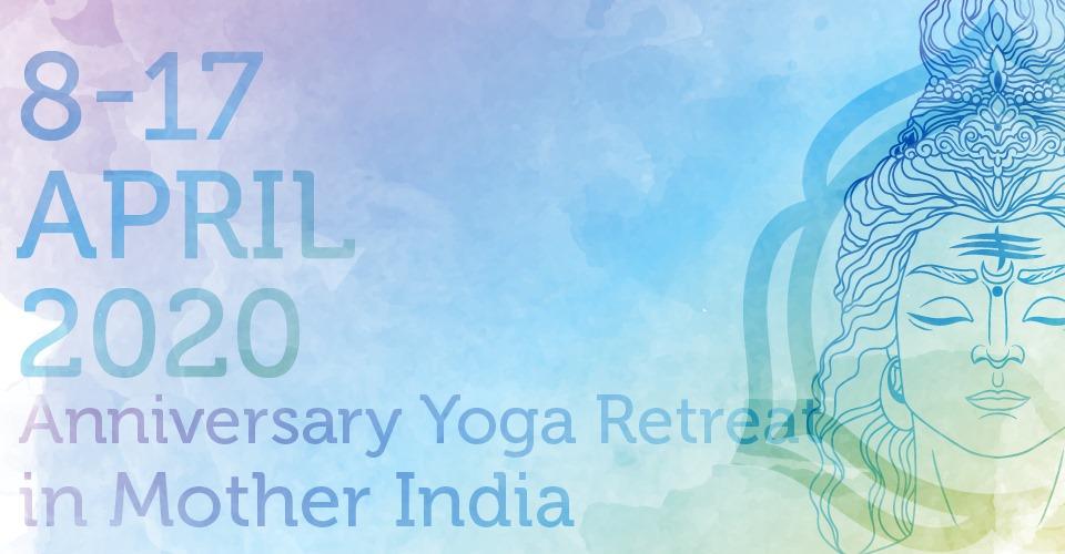 Anniversary Yoga Retreat in Mother India